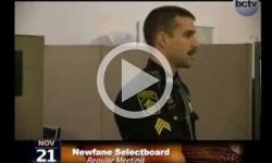 Newfane Selectboard Mtg. 11/21/13