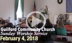Guilford Church Service - 2/4/18