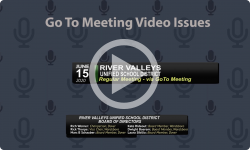 River Valleys Unified School District: RVUSD Bd Mtg 6/15/20