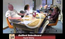 Guilford Selectboard Mtg. 4/14/14