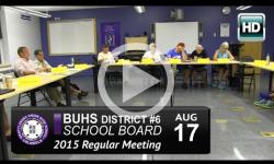Brattleboro High School Bd Mtg 8/17/15