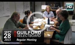 Guilford Selectboard Mtg 9/28/15