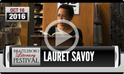 2016 Brattleboro Literary Festival: Lauret Savoy