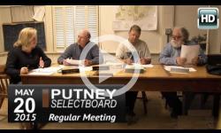 Putney Selectboard 5/20/15