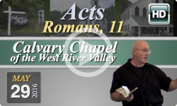 Calvary Chapel: May 2, 2016