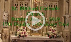 Mass from Sunday, July 14, 2019