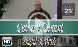Calvary Chapel: Dec 21, 2014