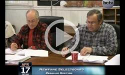 Newfane Selectboard Mtg. 4/17/14