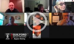 Guilford Selectboard: Guilford SB Mtg 6/8/20