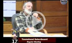Townshend Selectboard Mtg. 2/17/14