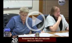 Townshend Selectboard Mtg 10/20/14