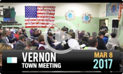 2017 Vernon Town Mtg Pt2 3/8/17