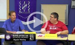BUHS School Board Mtg 8/21/17