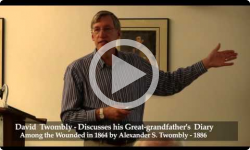 At BML: Among the Wounded- A Civil War Talk by Dave Twombly 5/22/13