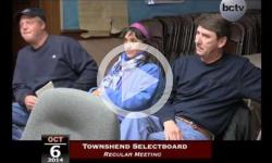 Townshend Selectboard Mtg 10/6/14