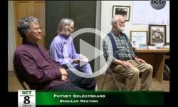 Putney Selectboard Mtg 10/8/14
