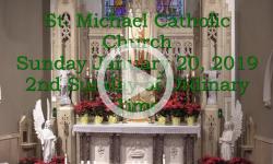 Mass from Sunday, January 20, 2019