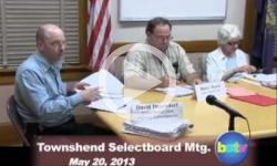 Townshend Selectboard Mtg 5/20/13