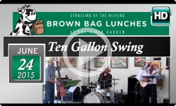 Ten Gallon Swing: Rivergarden Brown Bag Lunch 9/24/15