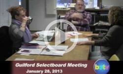 Guilford Selectboard Mtg. 1/28/13
