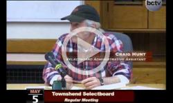 Townshend Selectboard Mtg 5/5/14