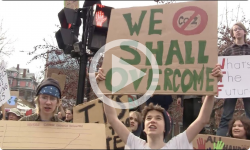 Brattleboro Rallies: Youth Climate Action 3/15/19