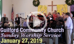Guilford Church Service - 1/27/19