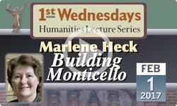 1st Wednesdays: Building Monticello