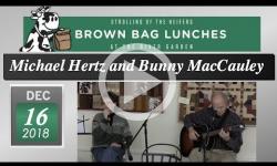 River Garden Brown Bag Lunch Series: Michael Hertz and Bunny MacCauley 12/16/18