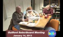Guilford Selectboard Mtg. 1/14/13