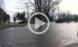 Lake Champlain Flooding in St. Albans Bay