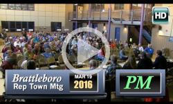 2016 Brattleboro Rep Town Mtg. - PM Session 3/19/16