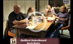 Guilford Selectboard Mtg. 10/14/13