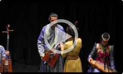 Mongolian Music and Dance- 10/16/12