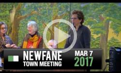 2017 Newfane Town Mtg 3/7/17
