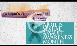 Women's Freedom Center 2017 Sexual Violence Awareness Month Events