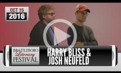 Brattleboro Literary Festival 2016: Harry Bliss, Josh Neufeld