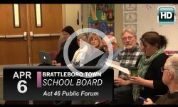Brattleboro Town School Bd Mtg 4/6/16