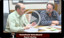 Townshend Selectboard Mtg. 2/3/14
