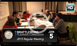 Brattleboro Planning Commission: 1/5/15