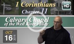 Calvary Chapel: 1 Corinthians, Chp 11