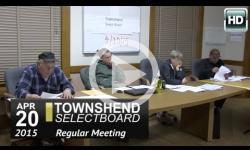 Townshend Selectboard: 4/20/15