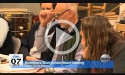Brattleboro Town School Board Mtg 1/7/15