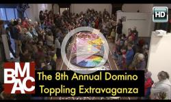 8th Annual Domino Toppling Extravaganza at BMAC