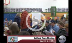 Guilford Town Mtg. 3/5/13