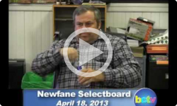 Newfane Selectboard Mtg 4/18/13