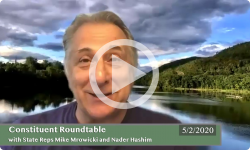 Community Forum: with State Reps Nader Hashim and Mike Mrowicki 5/2/20