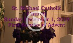 Mass from Sunday, December 1, 2019