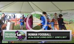 Human Foosball at the Stroll Expo 2017