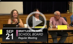 Brattleboro Town School Bd Mtg 9/21/16